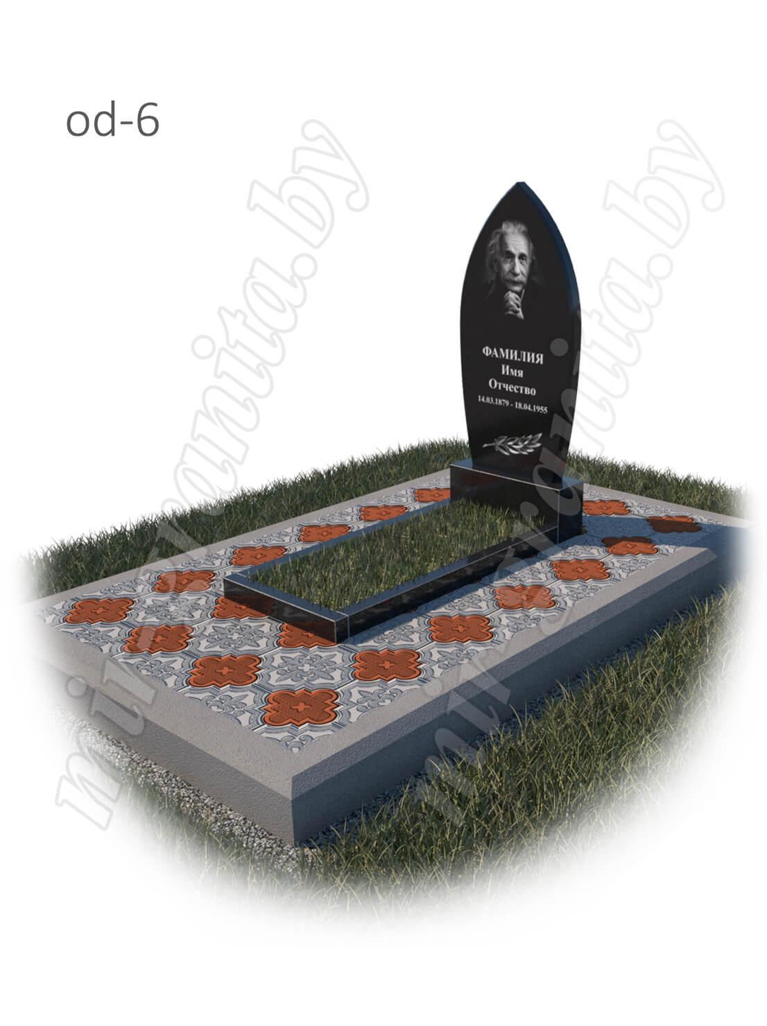 Одиночный памятник модель od-6